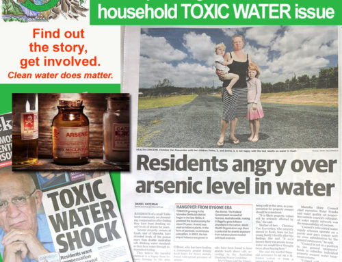 OPEN ISSUE: TOXIC HOUSEHOLD WATER