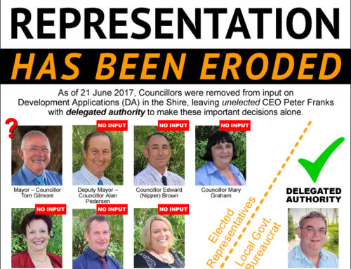 PETITION: Gain back the right for our elected Councillors to represent us